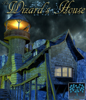 The Wizard's House 3D Models BlueTreeStudio