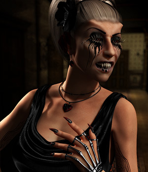 Stella 2 Addon Horror 3D Figure Essentials Dream9Studios