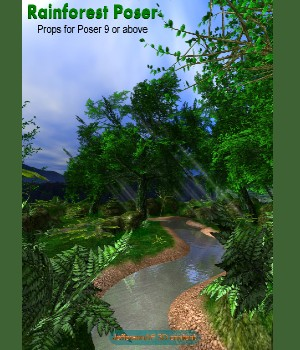 Rainforest Poser 3D Models JeffersonAF