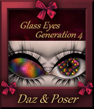 Mini Pack : Glass Eyes for Generation 4 3D Figure Assets farfadelf