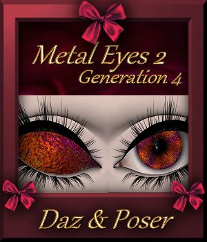 Mini Pack : Metal Eyes 2 for Generation 4 3D Figure Assets farfadelf