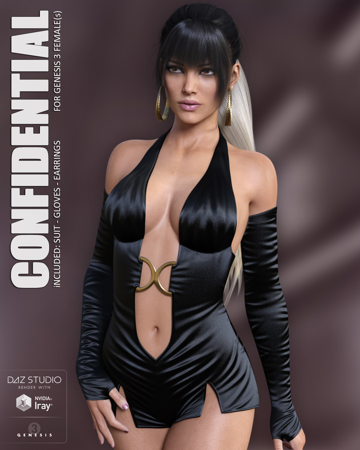 Confidential for Genesis 3 Females by lilflame