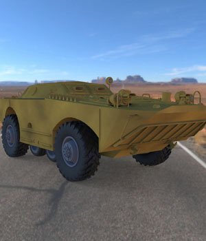 BRDM 1 for Poser  3D Models Digimation_ModelBank