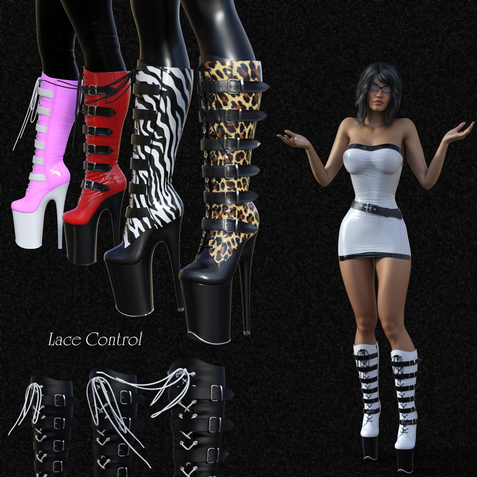 Shiny for tube dress figure assets curtisdway