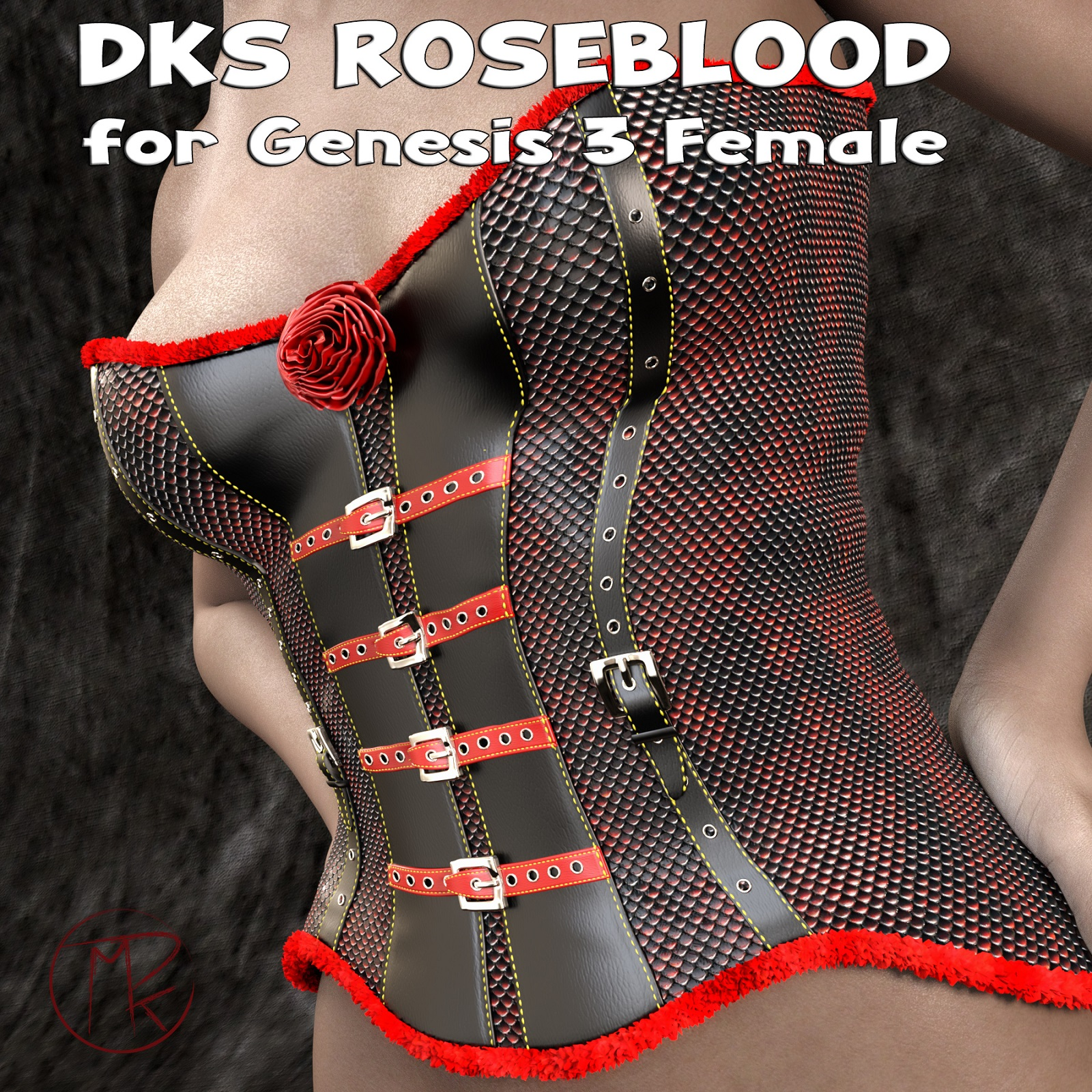 DKS RoseBlood for Genesis 3 Female
