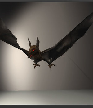 Bat - Extended License 3D Models Extended Licenses 3D Game Models : OBJ : FBX KRBY