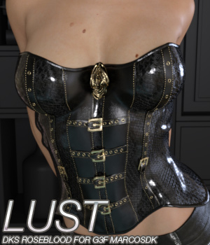 LUST - DKS RoseBlood for Genesis 3 Female 3D Figure Essentials Anagord