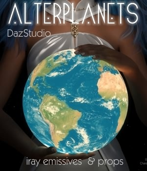 AlterPlanets Iray 3D Models Lights OR Cameras fabiana
