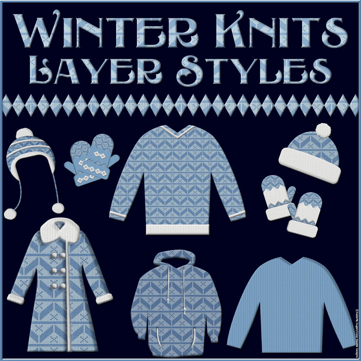 Winter Knits Layer Styles by fractalartist01