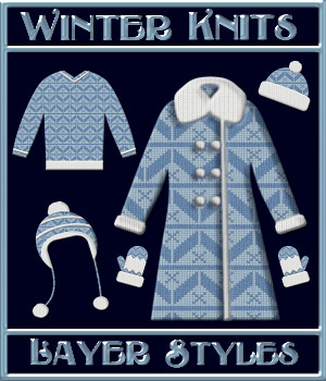 Winter Knits Layer Styles 2D Graphics Merchant Resources fractalartist01