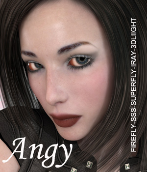 Angy for V4 3D Figure Essentials Anain