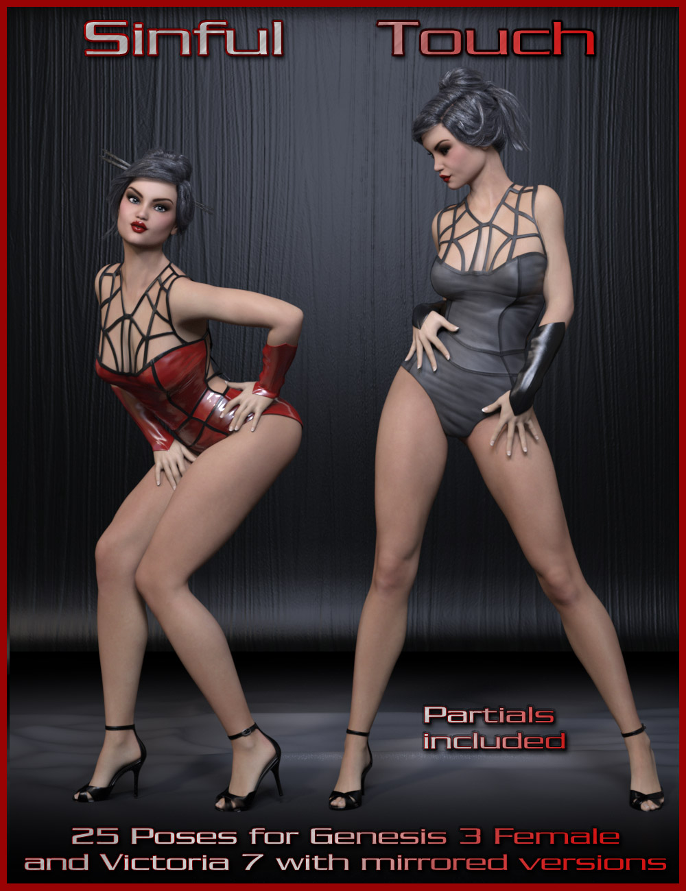 Sinful Touch Poses - G3F / V7