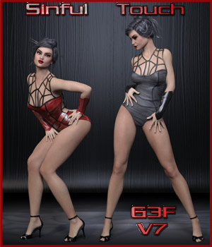 Sinful Touch Poses - G3F / V7 3D Figure Essentials ilona