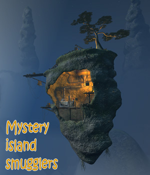 Mystery island smugglers 3D Models 1971s