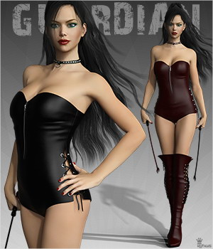 Jail Guardian for Genesis 3 Females 3D Figure Essentials mytilus