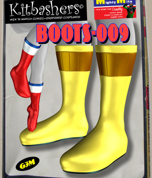Kitbashers_Boots-009 -- By MightyMite for G3M 3D Figure Assets MightyMite