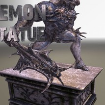 Demon Statue - Extended License image 2