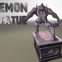 Demon Statue - Extended License image 4