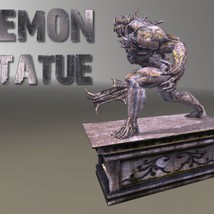 Demon Statue - Extended License image 5