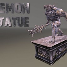 Demon Statue - Extended License image 6
