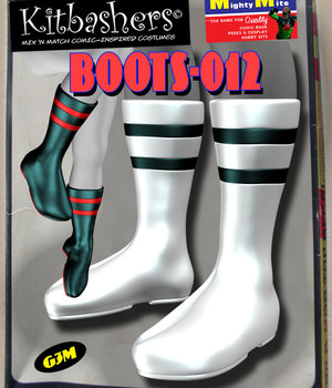 Kitbashers_Boots-012 -- By MightyMite for G3M 3D Figure Assets MightyMite