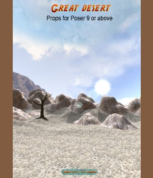 Great desert Poser 3D Models JeffersonAF