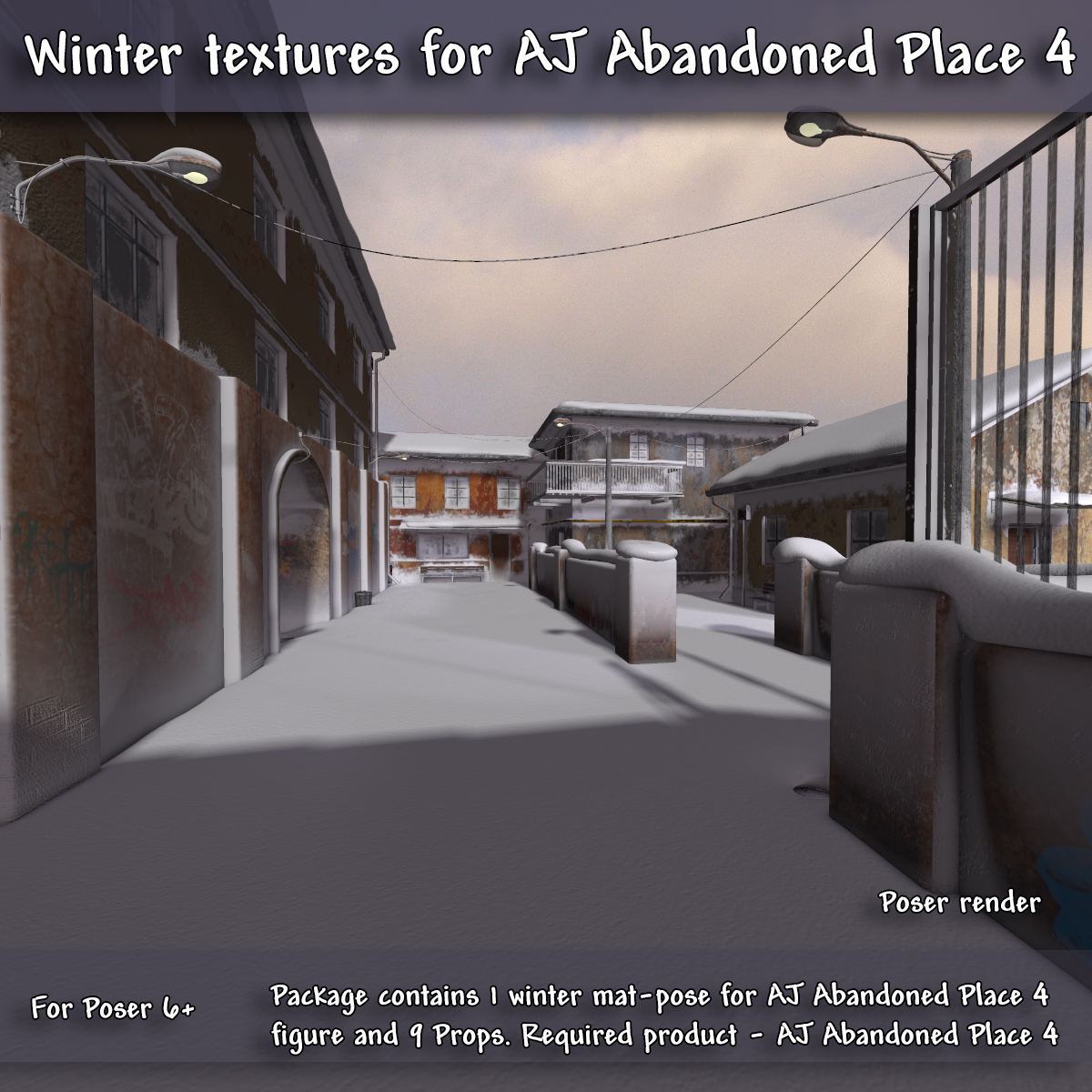 Winter Textures For AJ Abandoned Place 4