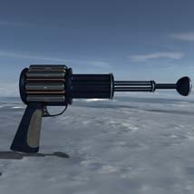 Scifi beam weapon - shrink ray prop  - Extended License image 2