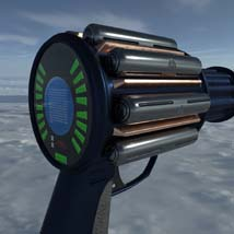 Scifi beam weapon - shrink ray prop  - Extended License image 3