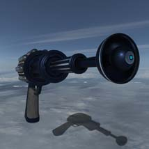 Scifi beam weapon - shrink ray prop  - Extended License image 5
