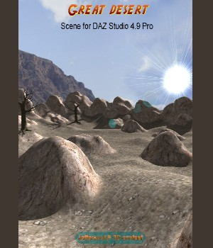 Great desert DAZ