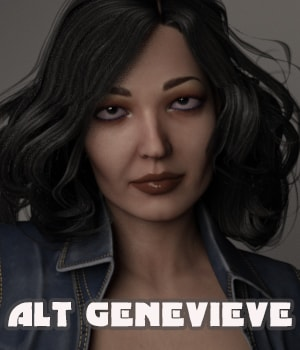 Alt Genevieve 3D Figure Essentials AliveSheCried