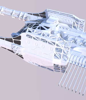 Spaceship 3D Models JoMiMa