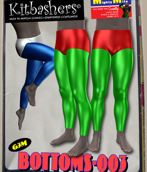 Kitbashers_Bottoms-003 -- By MightyMite for G3M 3D Figure Assets MightyMite
