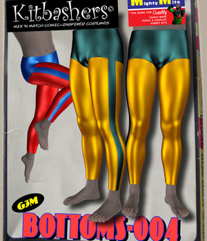 Kitbashers_Bottoms-004 -- By MightyMite for G3M 3D Figure Assets MightyMite