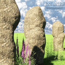 Rock And Roll Stone and Rock Shades and Models for Daz Studio and Iray. image 1