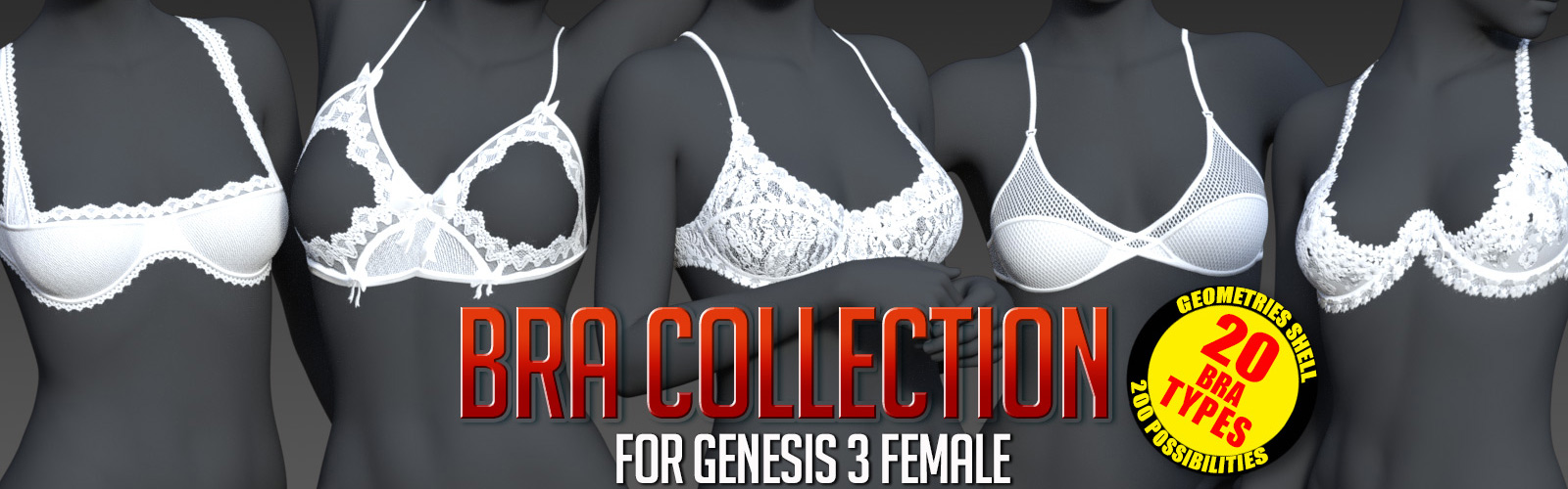Bra Collection for G3 females
