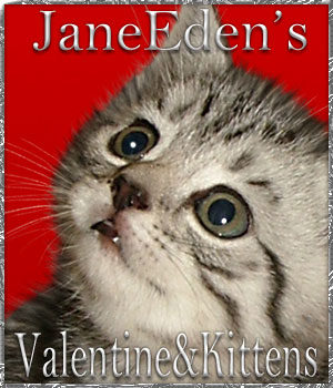 Jane Edens Valentines and Kittens 2D Graphics JaneEden