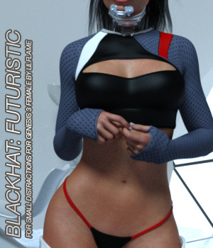 BLACKHAT:FUTURISTIC - Small Distraction for Genesis 3 Females