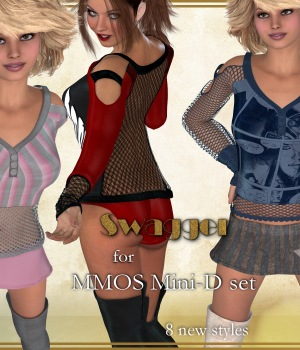 Swagger for Mini-D 3D Figure Essentials JudibugDesigns