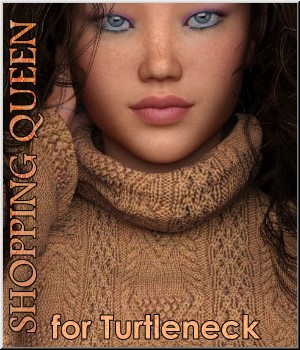 Shopping Queen: for Turtleneck 3D Figure Essentials LUNA3D