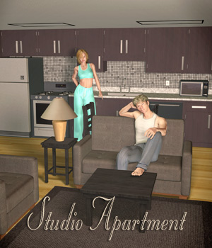 Studio Apartment 3D Models Richabri