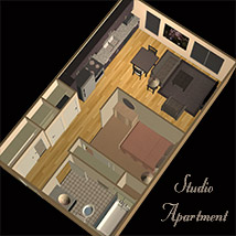 Studio Apartment image 6