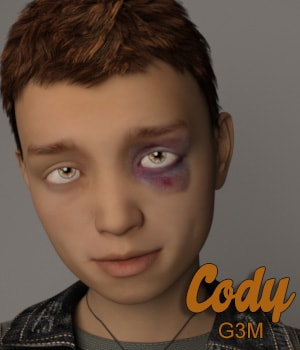 Cody for G3M 3D Figure Essentials AliveSheCried