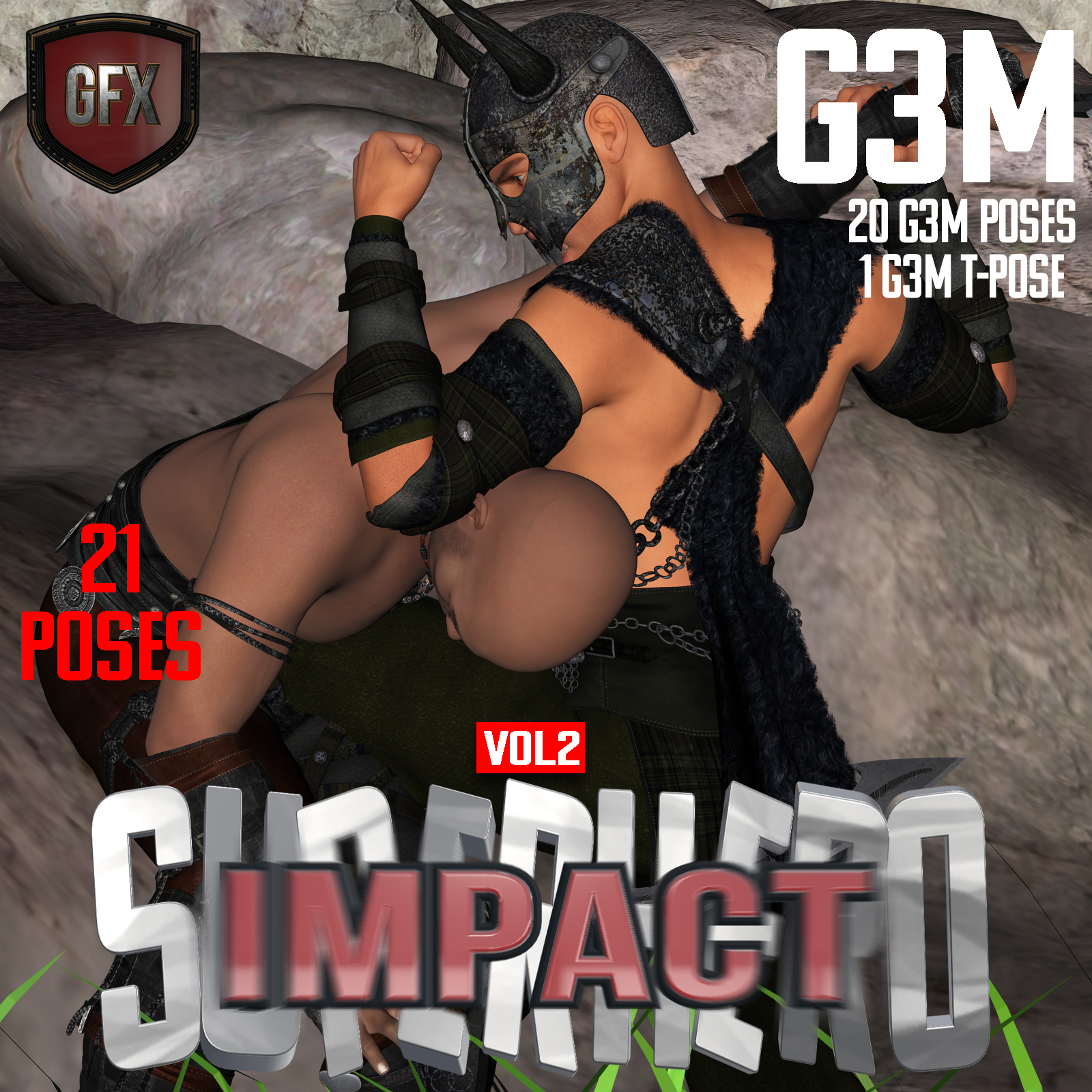SuperHero Impact for G3M Volume 2