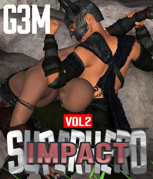 SuperHero Impact for G3M Volume 2  3D Figure Assets GriffinFX