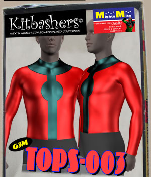 Kitbashers_Tops-003 -- By MightyMite for G3M 3D Figure Assets MightyMite
