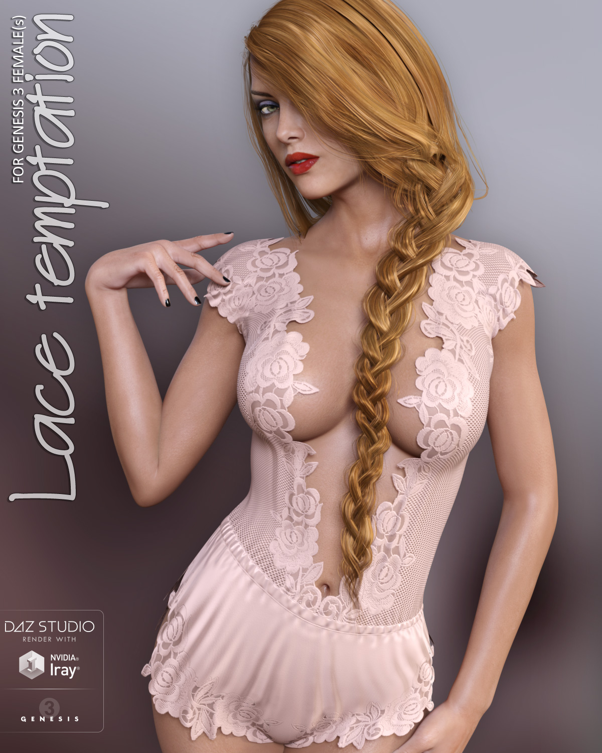 Lace Temptation for Genesis 3 Females