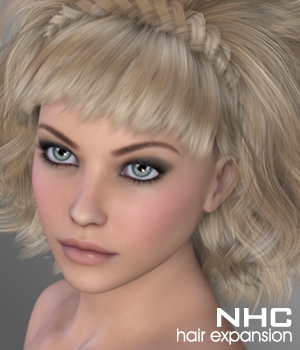 NHC Expansion : Donna Hair 3D Figure Assets P3D-Art