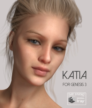 Redz Katia for Genesis 3 Female 3D Figure Essentials RedzStudio